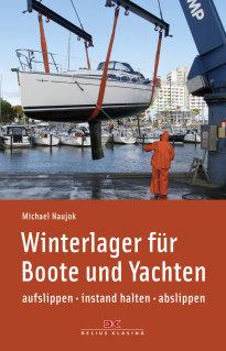 Naujok, Winterlager für Boote und Yachten