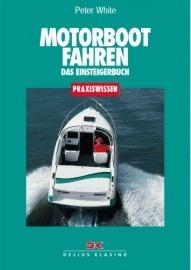 White, Motorbootfahren
